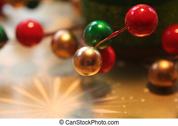 Christmas Decoration Closeup