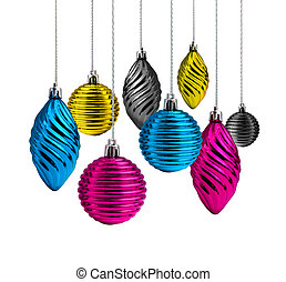 Christmas decoration cmyk
