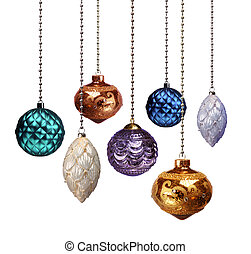Christmas decoration colour variables