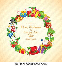 Christmas Decoration - illustration of Christmas decoration...