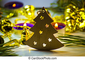 Christmas decoration in the form of a Christmas tree