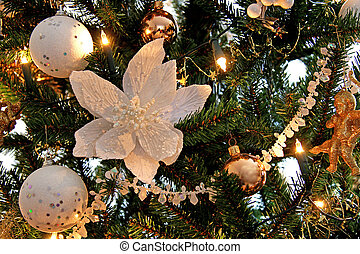 Christmas decoration in tree