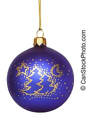 Christmas Decoration - Isolated Christmas tree decoration