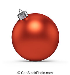 Christmas Decoration Red Ball