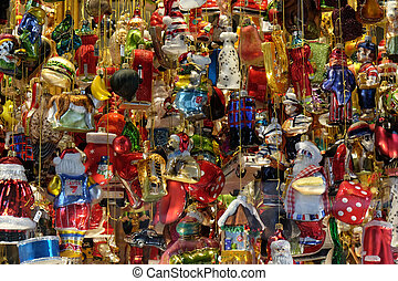 Christmas decoration shop in Graz, Austria