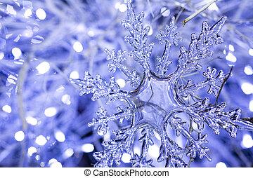 Christmas decoration snowflake 2