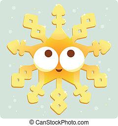 Christmas decoration snowflake