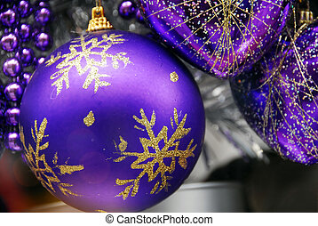 Christmas Decoration Textured Baubles