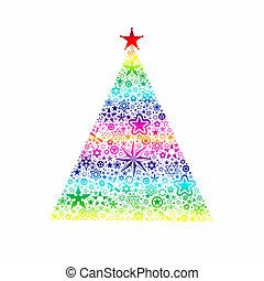Christmas decoration - Colorful christmas decoration of...