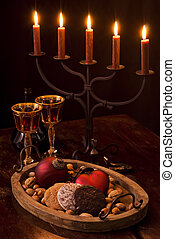 Christmas Decoration with Candlelight Holder