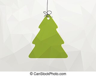 Christmas decoration with tree