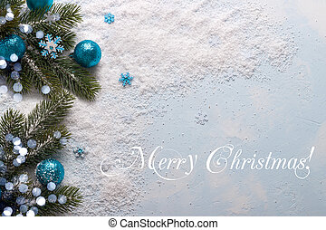 Christmas decorations background - Christmas decorations...