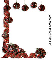 Christmas decorations Border Ribbon - Image and illustration...