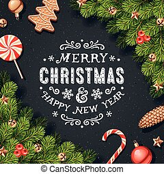 Christmas Decorations Card