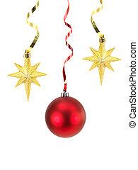 Christmas Decorations - Christmas decorations isolated ...