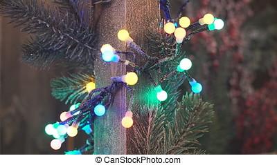 Christmas Decorations. Christmas garland. - Christmas...