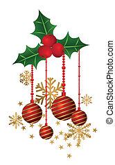 Christmas Decorations - Illustration of christmas...