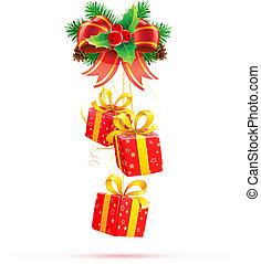 Christmas decorations - Vector illustration of Christmas...
