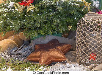 Christmas decorations - star