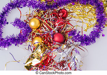 Christmas decorations to celebrate the new year