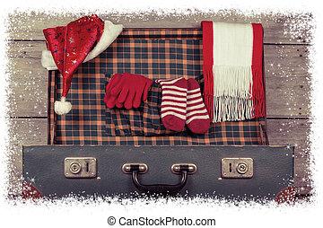Christmas decorations. Xmas holiday concept.