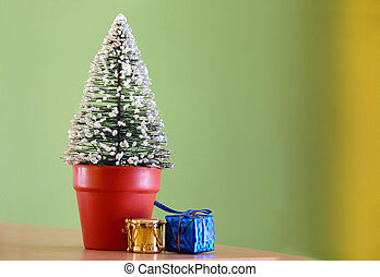 Christmas decorative fir tree