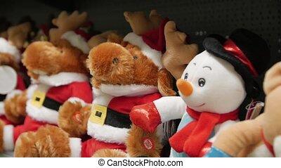 Christmas Deer Toys - Christmas deer toys snowman New Year ...