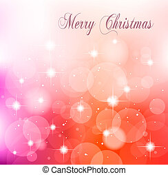 Christmas Delicate Abstract Background for Flyers -...