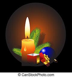 Christmas design element