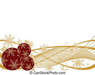 christmas design - vector illustration of of christmas balls...