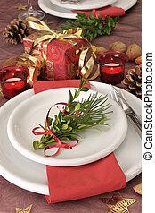 christmas dinning - Christmas dinning table