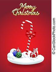christmas!, doce, feliz, cana, natal, feliz