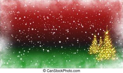 Christmas Dream Trees HD Loop