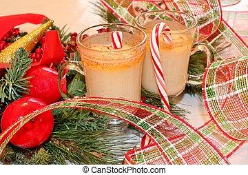 Christmas eggnog