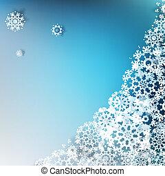 Christmas elegant blue background. EPS 10