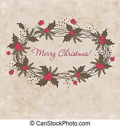 Christmas elegant vector  illustration