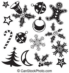 Christmas element - Collect Christmas element with bell,...