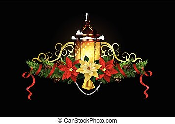 Christmas elements for your designs - Christmas decoration...