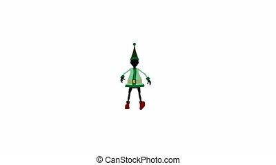 Christmas Elf - Christmas elf on a white background
