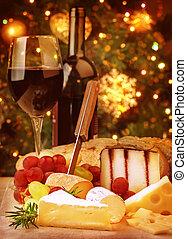 Christmas eve dinner - Christmas eve dinner, fine dining...