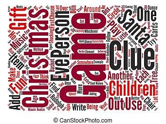 Christmas Gift Exchange Games.School Christmas Gift Exchange Games Word Cloud Concept