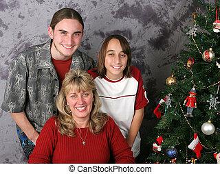 Christmas Family Portrait