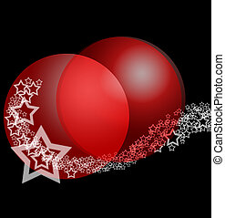 Christmas Fantasy Abstract Ornament