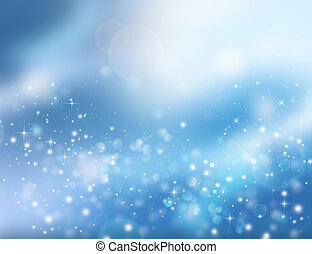 Christmas fantasy, winter background