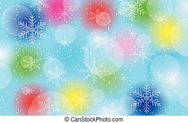 christmas festive background, vector illustration