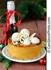 Christmas festive dessert cake