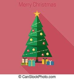 Christmas fir tree.