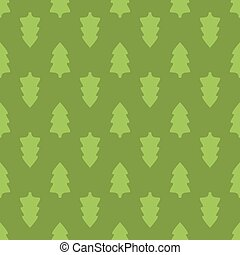 Christmas fir tree seamless pattern