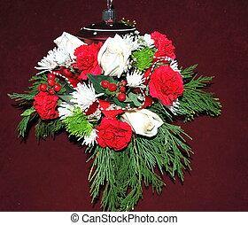 Christmas floral.