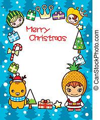 Christmas Frame Background 1
